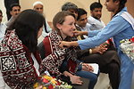 Launch of the USAID National Reading Program in Karachi on April 12, 2012.