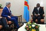Secretary Kerry Meets With President Kabila in Democratic Republic of Congo