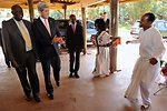 Secretary Kerry Observes Traditional Ethiopian Dancers, Musicians Before Africa Speech