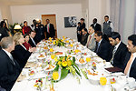 Secretary Clinton Meets With Qatari Amir Sheikh Hamad bin Khalifa al-Thani