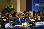 Secretary Kerry and U.S. Trade Represenative Froman Particpate in the Ministerial Meeting Opening Plenary Session