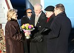 Secretary Clinton Arrives in Moscow