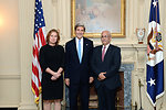 Secretary Kerry Meets With Israeli Justice Minister Livni and Palestinian Chief Negotiator Erekat