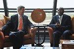 Democratic Republic of Congo Foreign Minister Tshibanda Welcomes Secretary Kerry