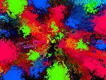Coarse colored structure