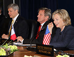 Secretary Clinton Meets With Leaders at G8 Foreign Ministers Meeting