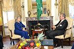 Secretary Clinton Holds a Bilateral With Saudi Foreign Minister al Faisal