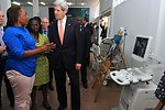 Democratic Republic of Congo Woman Tells Secretary Kerry How Microfinance Program Helped Her Business