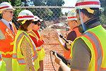 Secretary Darcy, Rep. Matsui visit Sacramento levee project