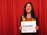 I'm FACING AIDS because sex is healthy.