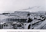 'The Weyerhaeuser Lumber Mill, on the Waterfront at Everett'. In:  'Puget Sound and Western Washington  Cities-Towns Scenery', by Robert A. Reid, Robert A. Reid Publisher, Seattle, 1912.  P. 92.