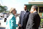 Secretary Clinton Meets With CARICOM Leaders