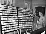 Car Pool Board 1944 Oak Ridge