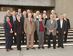 Acting Under Secretary Gottemoeller Poses for a Photo With the ISAB Committee