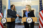 Secretary Clinton Delivers Remarks With Somali President Hassan Sheikh