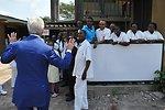 Secretary Kerry Bids Farewell to Staff at Fistula Clinic in Kinshasa