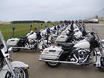 The Bureau of International Narcotics and Law Enforcement Affairs Donates Harley Davidson Police Motorcycles