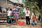 Flood Relief Beneficiary Community Members in Long An Province