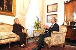 Secretary Clinton Meets With Maltese Prime Minister Gonzi