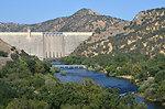 A view of Pine Flat Dam near Fresno, Calif., June 17, 2013