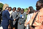 Secretary Clinton Thanks Embassy Port-au-Prince Staff