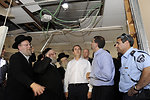 Ambassador Shapiro Tours Ashdod's Operations Center