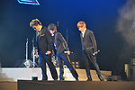 Super Junior performs at the MTV EXIT Hanoi concert March 27, 2010