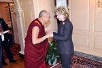 Secretary Clinton Meets With His Holiness the Dalai Lama