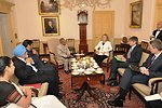 Secretary Clinton Meets With Indian Ministers