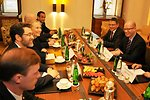 Secretary Clinton Meets With Czech Republic Social Democratic Party Leadership