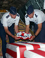 Airmen pay respect during repatriation ceremony