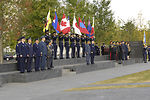 Air chiefs participate in wreath-laying ceremony