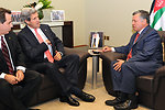 Secretary Kerry Meets With King Abdullah II Before World Economic Forum in Jordan