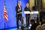 Secretary Kerry and French Foreign Minister Fabius Hold a News Conference