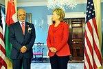 Secretary Clinton Meets Omani Foreign Minister