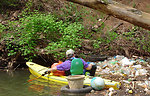 Earth Day stream clean-up 2006