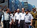 Special Envoy Mitchell and Ambassador Cunningham Visit the Kerem Shalom Crossing