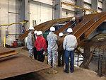 District staff checks progress on Folsom Dam auxiliary spillway gates