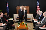 Secretary Clinton Meets With Australian Foreign Minister Rudd