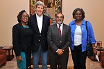Secretary Kerry, Assistant Secretary Thomas-Greenfield Meet Foreign Minister Borges of Cape Verde on Sal Island