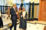 Secretary Kerry Walks With Omani Sultan Qaboos bin Said Al Said