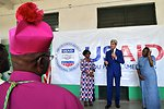 Secretary Kerry Condemns Gender-Based Violence During Tour of Fistula Clinic in Kinshasa