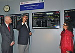 USAID Mission Director Gregory Gottlieb (left) and U.S. Consul General in Lahore Nina Fite at the inauguration of the Power Distribution Control Center at LESCO