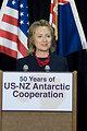 Secretary Clinton Delivers Remarks on the Antarctic Program