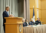 Secretary Kerry Delivers Remarks With 'Camp David' Actors at the Open Forum