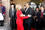 Ecuadorian President Correa and Secreatry Clinton Say Goodbye