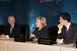 Secretary Clinton Participates in G8 Foreign Ministers Meeting Press Conference