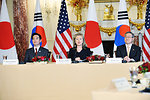 Secretary Clinton Holds a Trilateral Meeting With Japanese Foreign Affairs Minister Seiji Maehara and Republic of Korea Foreign Affairs and Trade Minister Kim Sung-Hwan