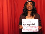I AM FACING AIDS because our lives begin to end the day we become silent about what matters-- Dr. Martin L. King Jr.