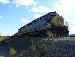 August 2009, Full rail cars leave New Bedford